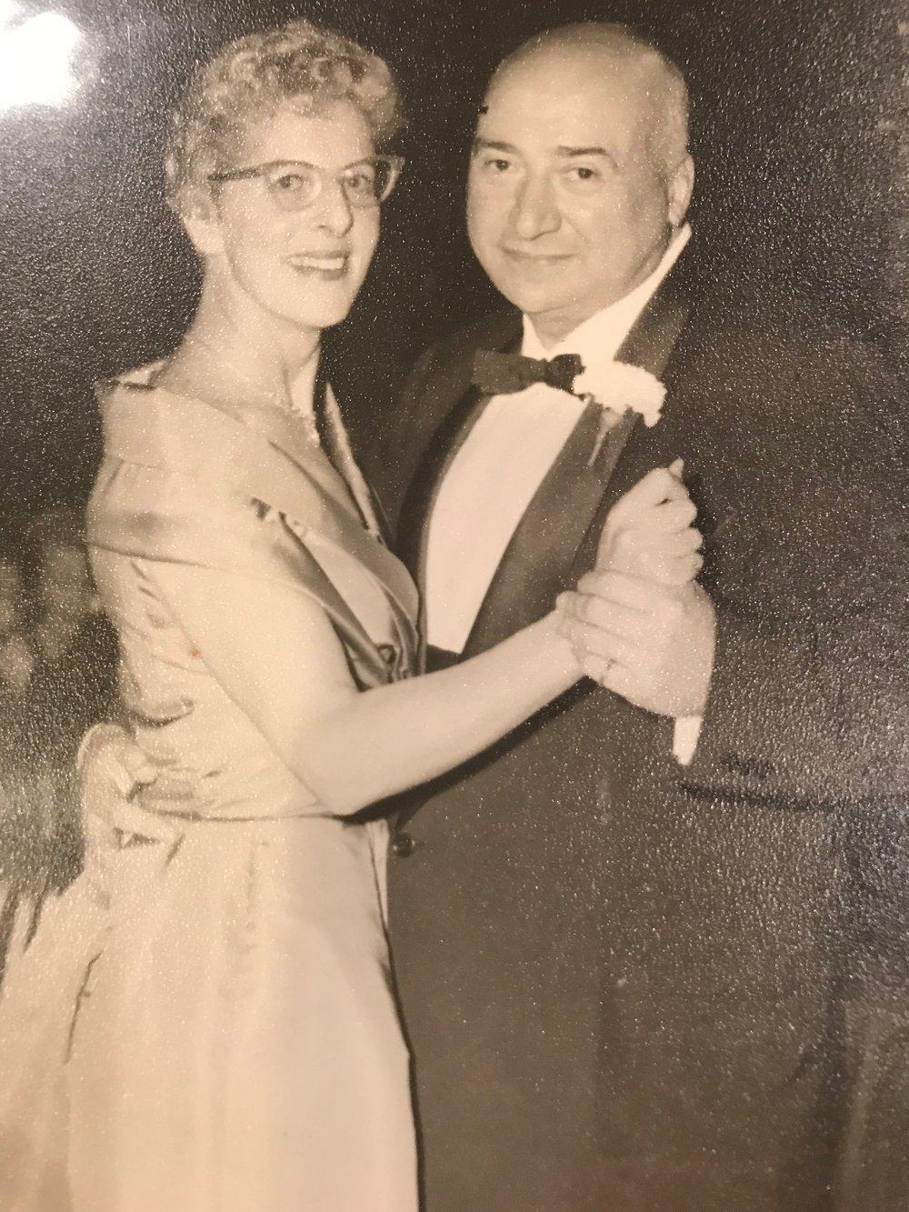 Yvonne with Aldo