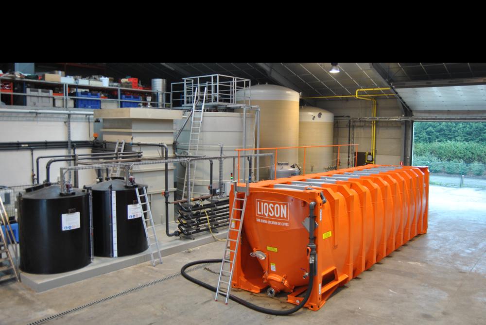 huur mobiele opslagtank 50.000L voor drinkwater