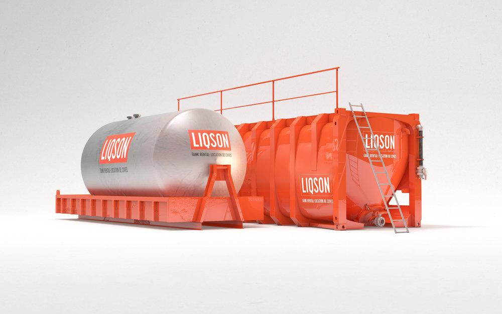 LIQSON tank huren