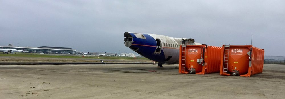 Cuve de stockage glycol de dégivrage avions