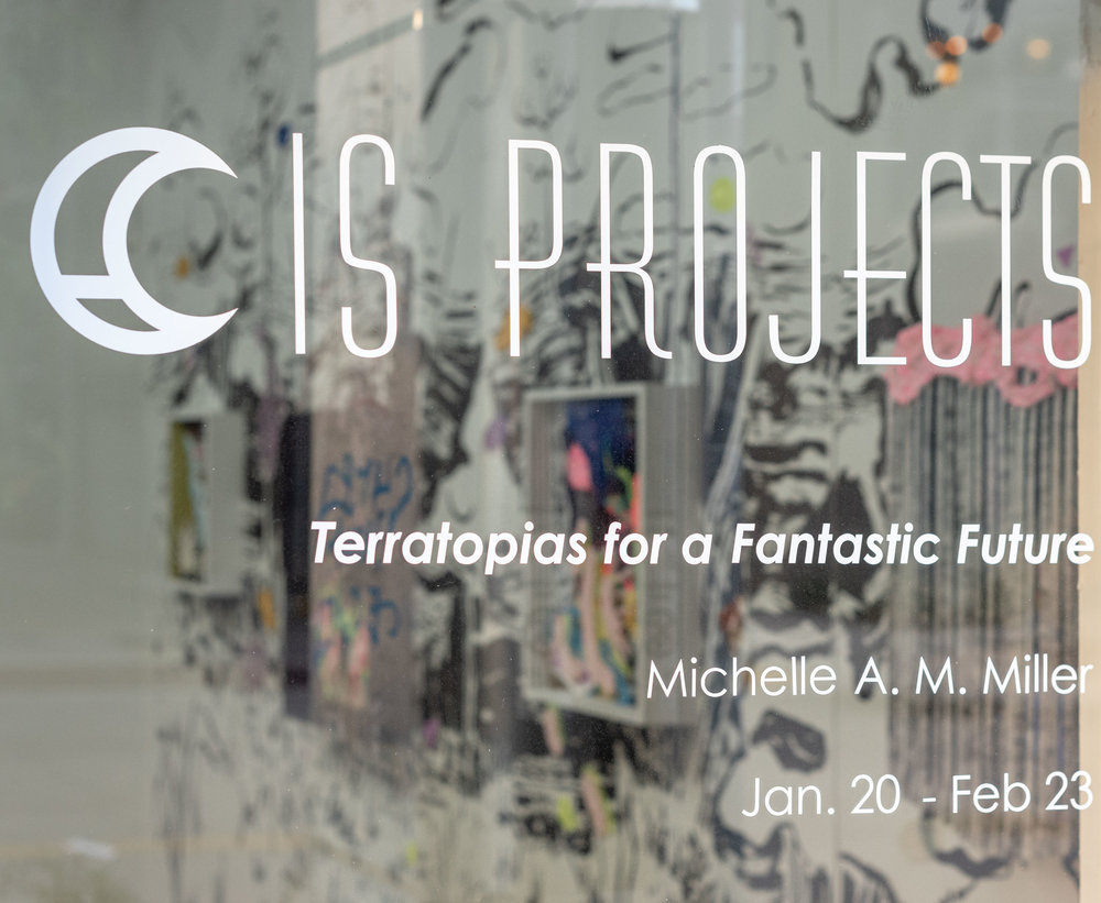 Solo exhibition: Terratopias for a Fantastic Future - January 20 - February 23, 2019IS Projects17 NEW 5th Street, Ft. Lauderdale