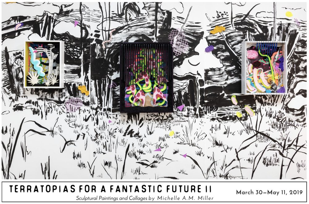 Solo exhibition: Terratopias for a Fantastic Future II - March 30 - May 11, 2019The GalleRE @ Resource Depot2510 Florida Ave, West Palm BeachOpening Reception: Saturday, March 30, 2019, 5—7 pm