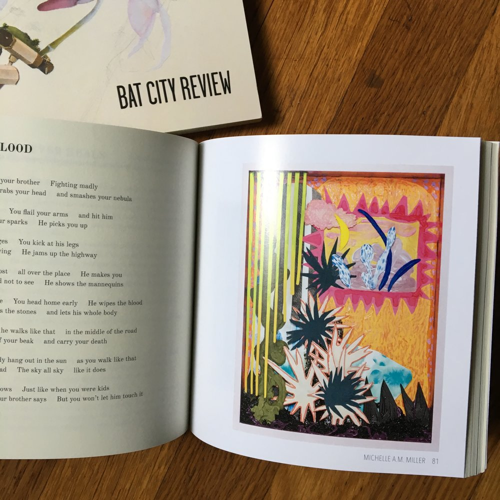 Artwork featured - Bat City Review Issue 15, 2019