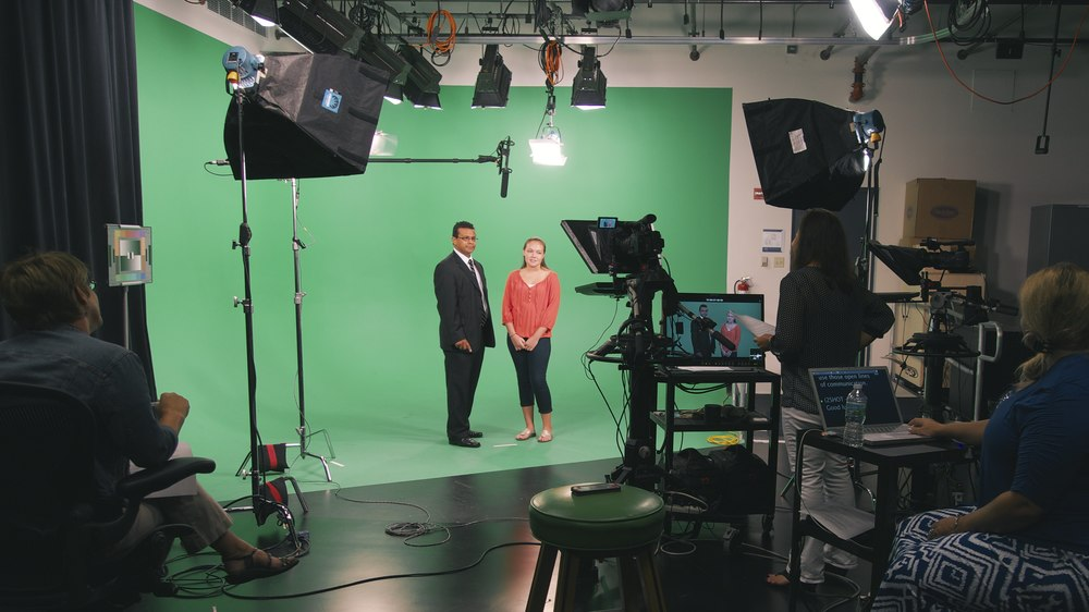 FYE Reshoot with Dean Robert Green and Rachel Herriff