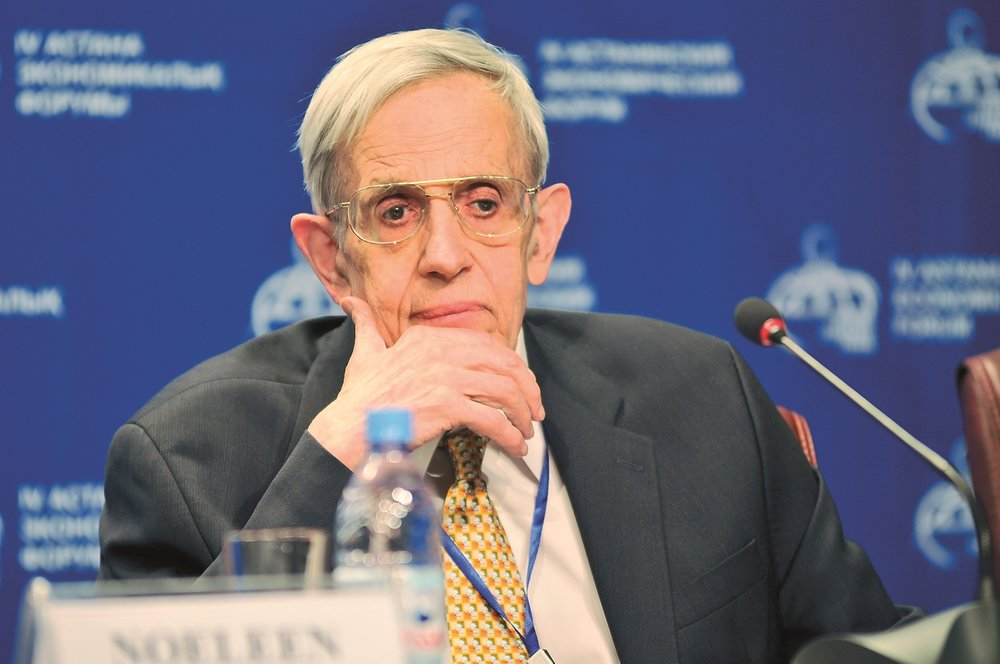 John Nash, mathematician best known for his work on game theory and differential geometry.