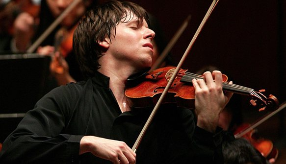 Joshua Bell. Image via  San Francisco Symphony .