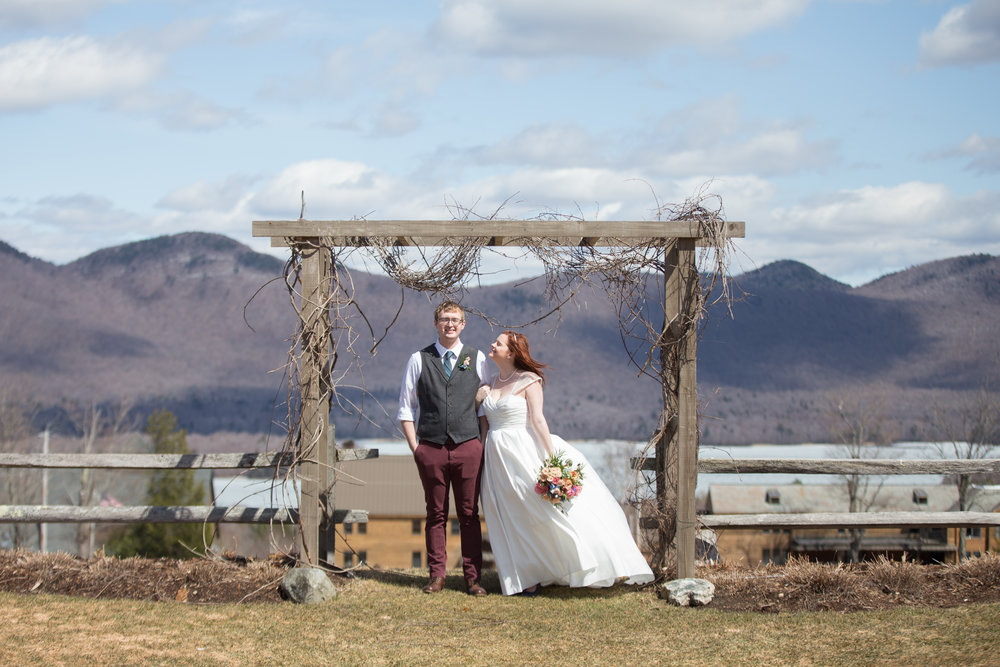 ANDRIA & LOGAN - THE MOUNTAIN TOP INN & RESORT: CHITTENDEN, VT