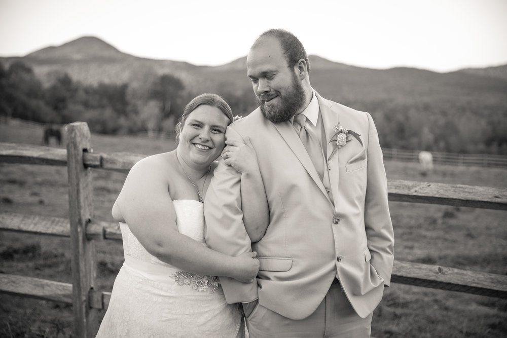 HEATHER & CHRIS - THE MOUNTAIN TOP INN & RESORT: CHITTENDEN, VT