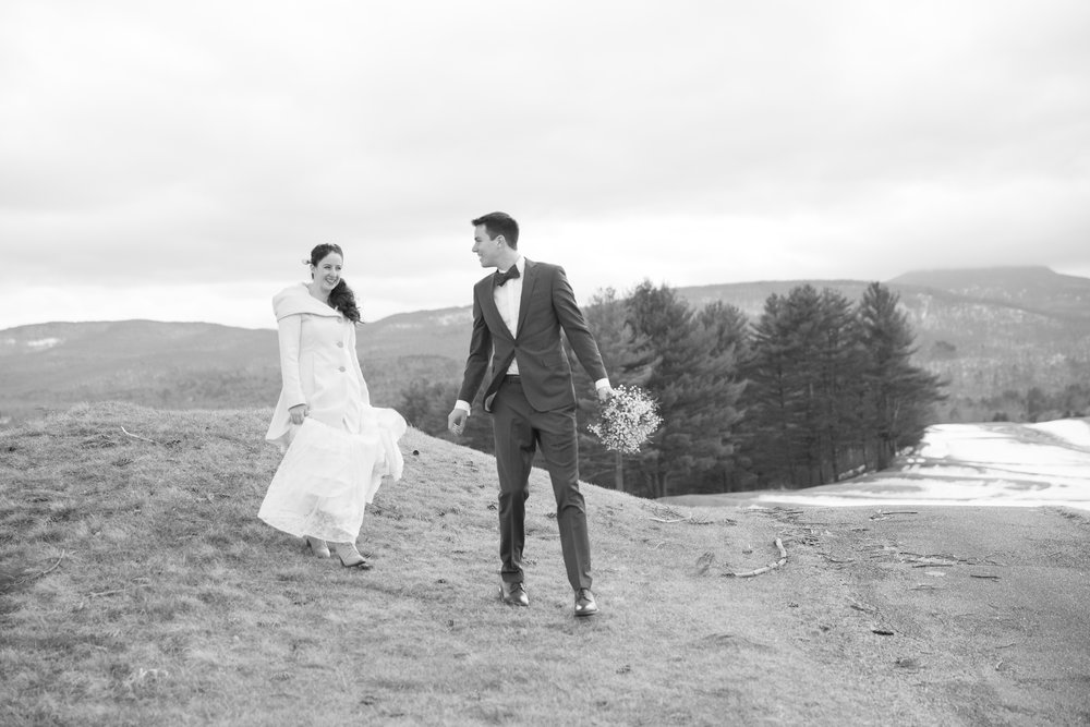 Erin & Jonas - February 24, 2018 @  Country Club of Vermont  - Waterbury Center, Vermont
