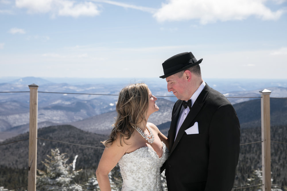 Amy & John - April 9, 2018 @  Killington Peak Lodge  - Killington, Vermont