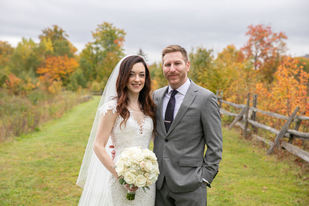 Erin & Adam - October 6, 2018 @  The Ponds at Bolton Valley  - Richmond, Vermont