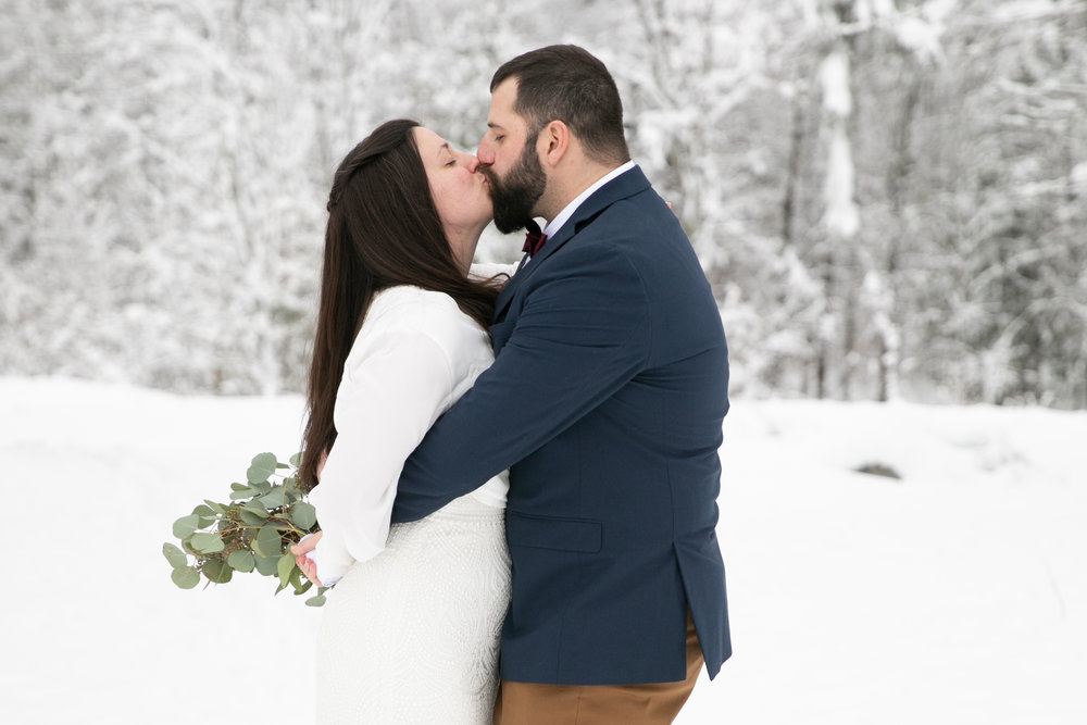 Jenna & John - December 1, 2018 @  Sleepy Hollow Inn  - Huntington, Vermont