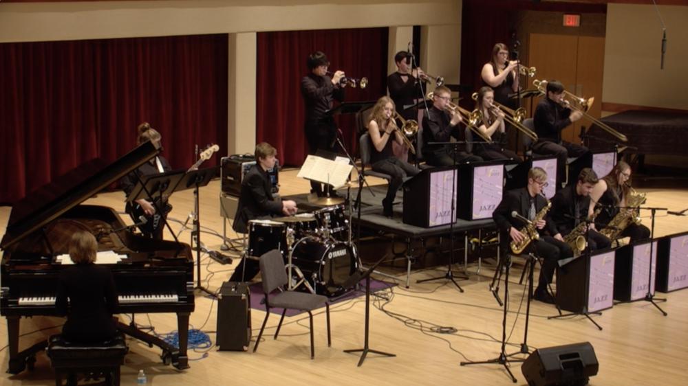 2018 Jazz Band at the Western Illinois University Jazz Festival