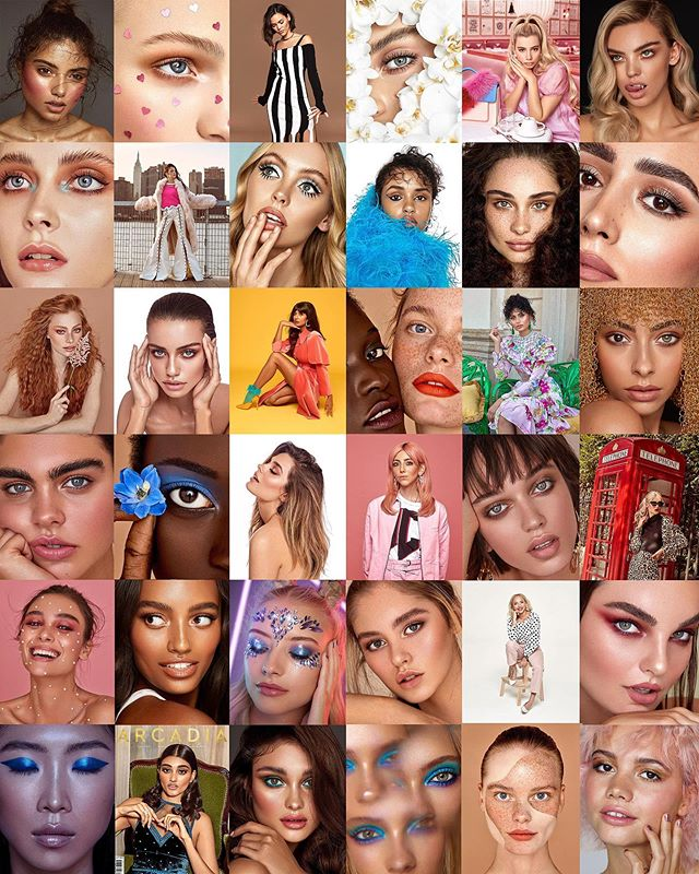 Thankyou to all the fabulous creatives I've worked with in 2018! ⭐️