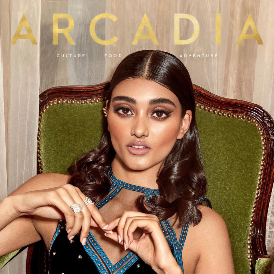 Neelam Gill - Arcadia Magazine Cover
