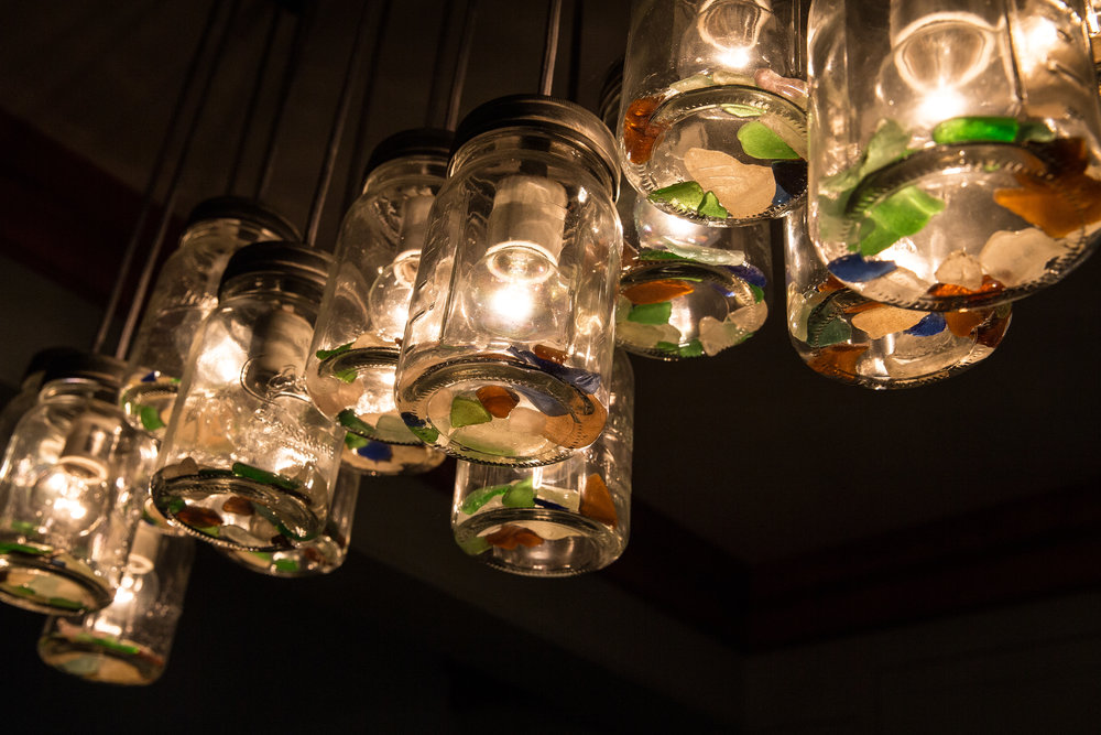 Sea Glass Lights 1162
