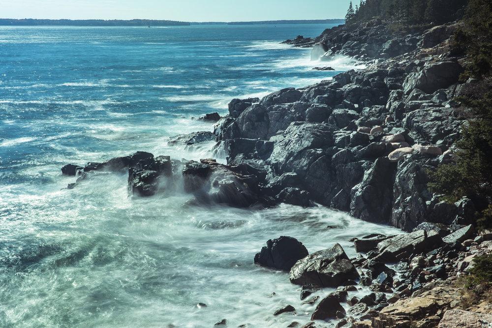 Otter Cliffs II 1165