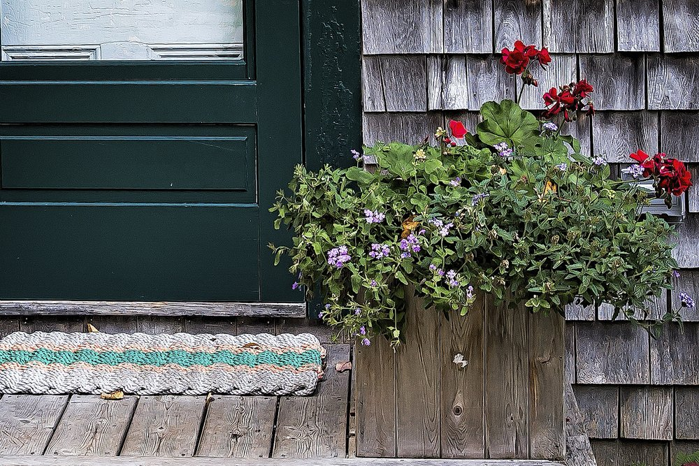 Porch Flowers 1164