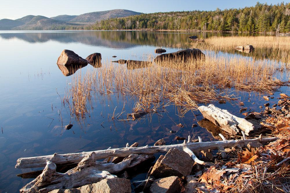 Quiet Morning at Eagle Lake