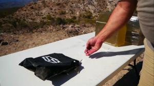 The ShotStop® NIJ Level IIIA vs Multiple 10mm Auto