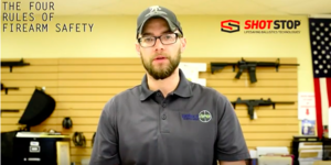 Four Rules of Firearm Safety Used at the Shooting Range