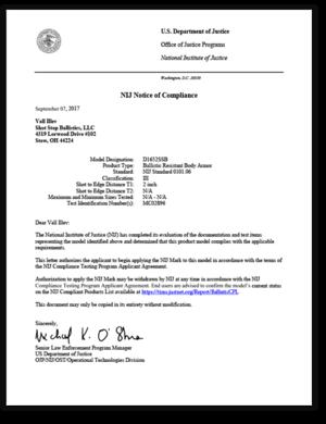 NIJ-Notice-of-Compliance_ShotStop.png