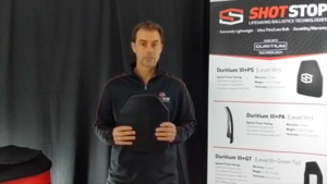 Duritium IV+HS Body Armor Plate from ShotStop®