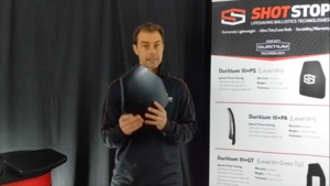 Duritium III+PA Body Armor Plate from ShotStop®