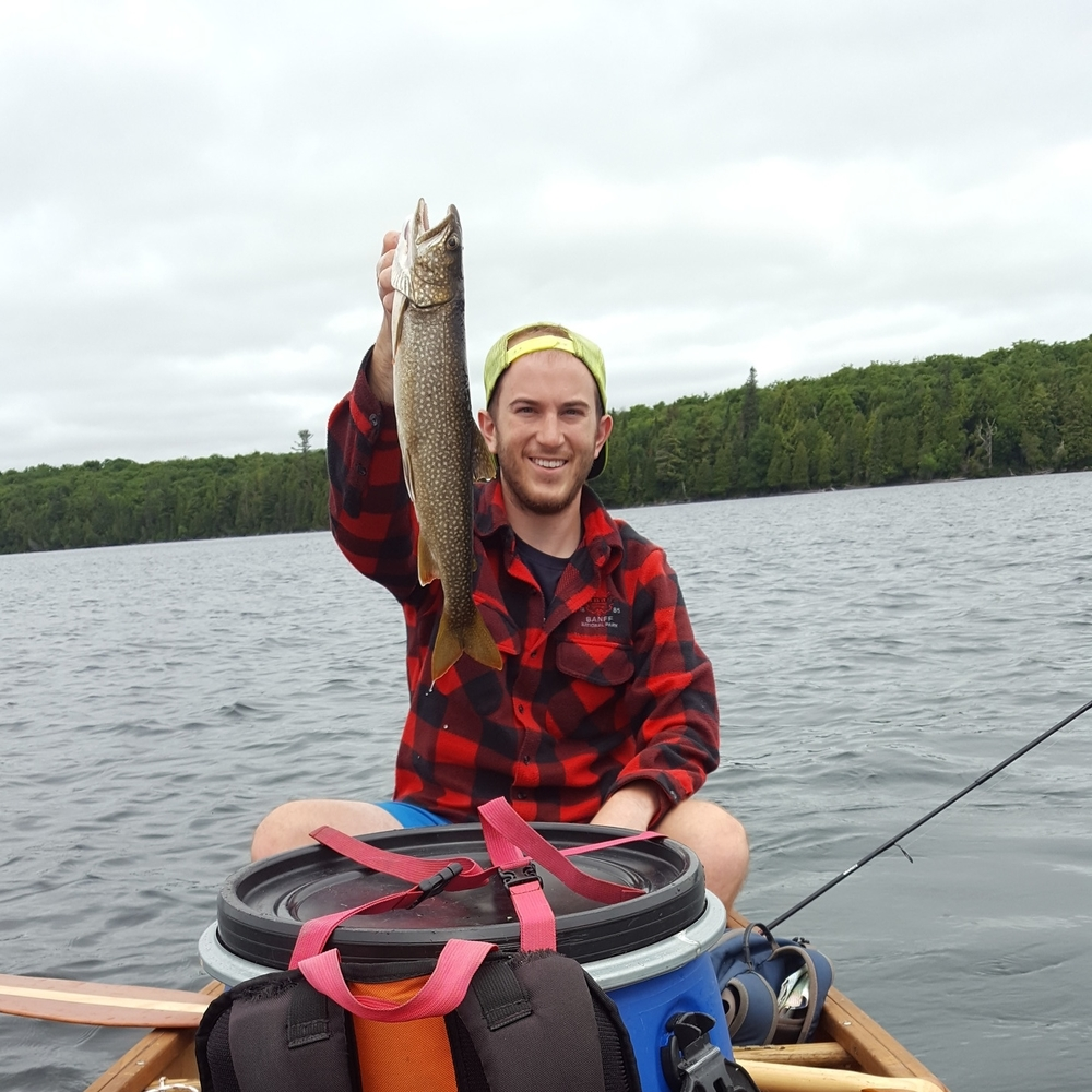 Lake Trout caught on Ralph Bice