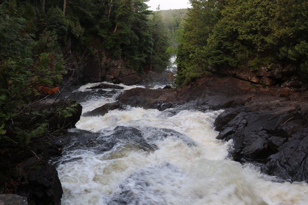 Ragged Falls, Algonquin Park