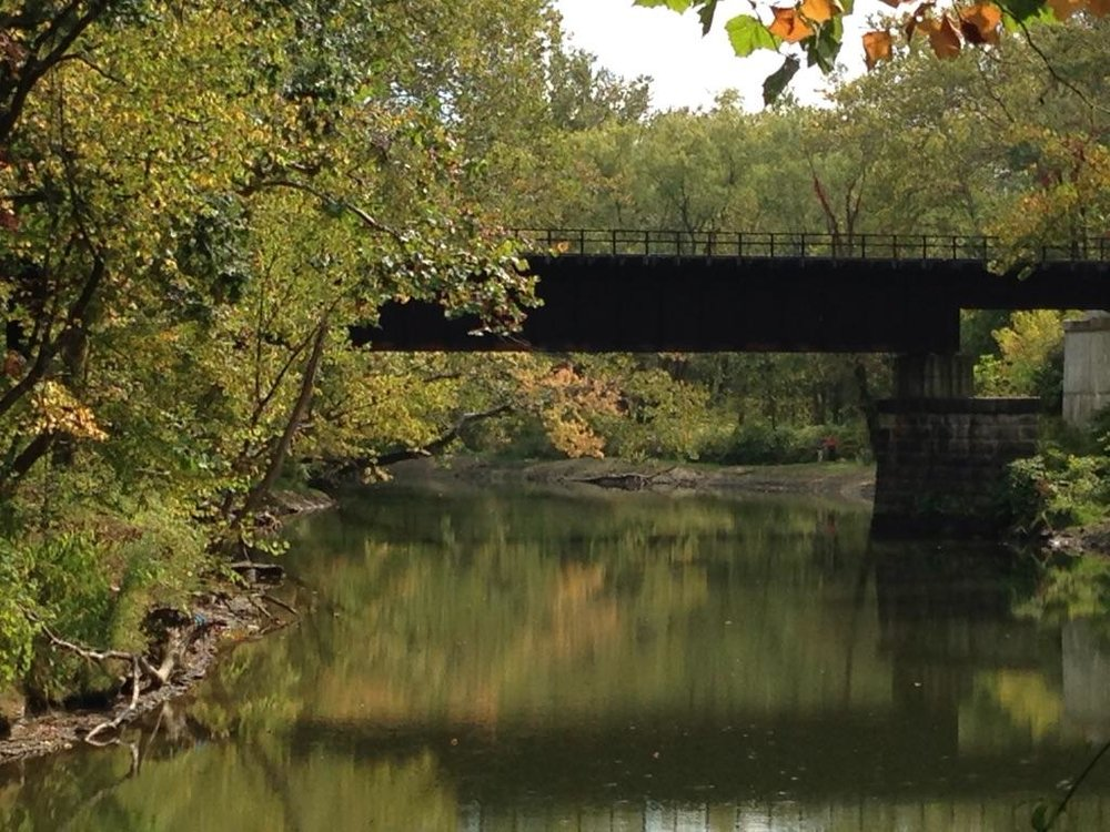 Original Erie Canal tow path at Cuyahoga Valley National Park