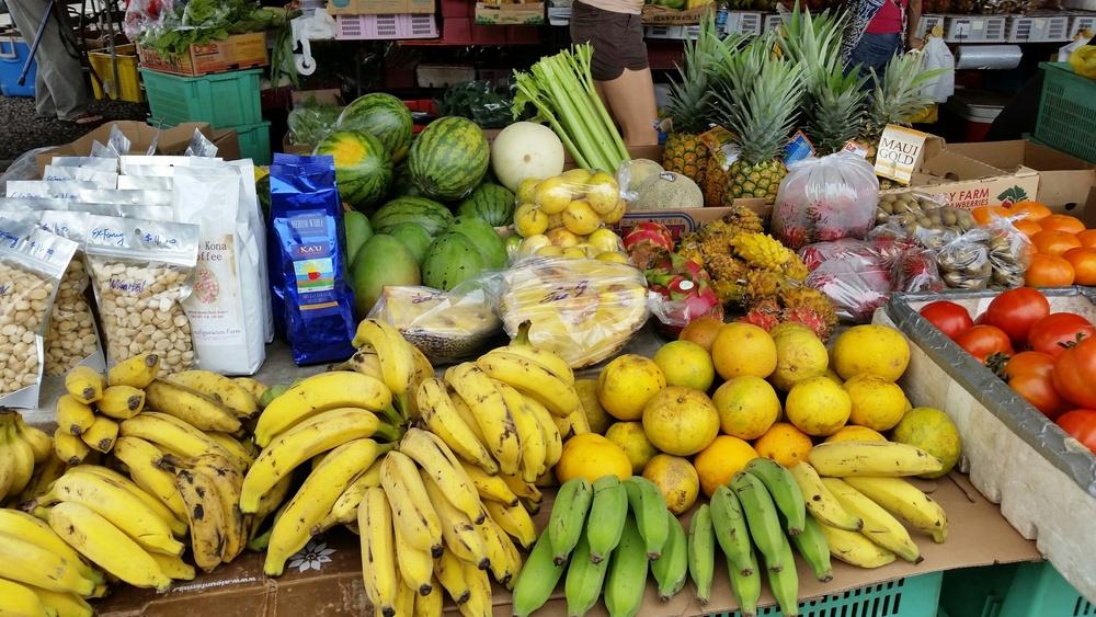 farmer's market Hilo, HI