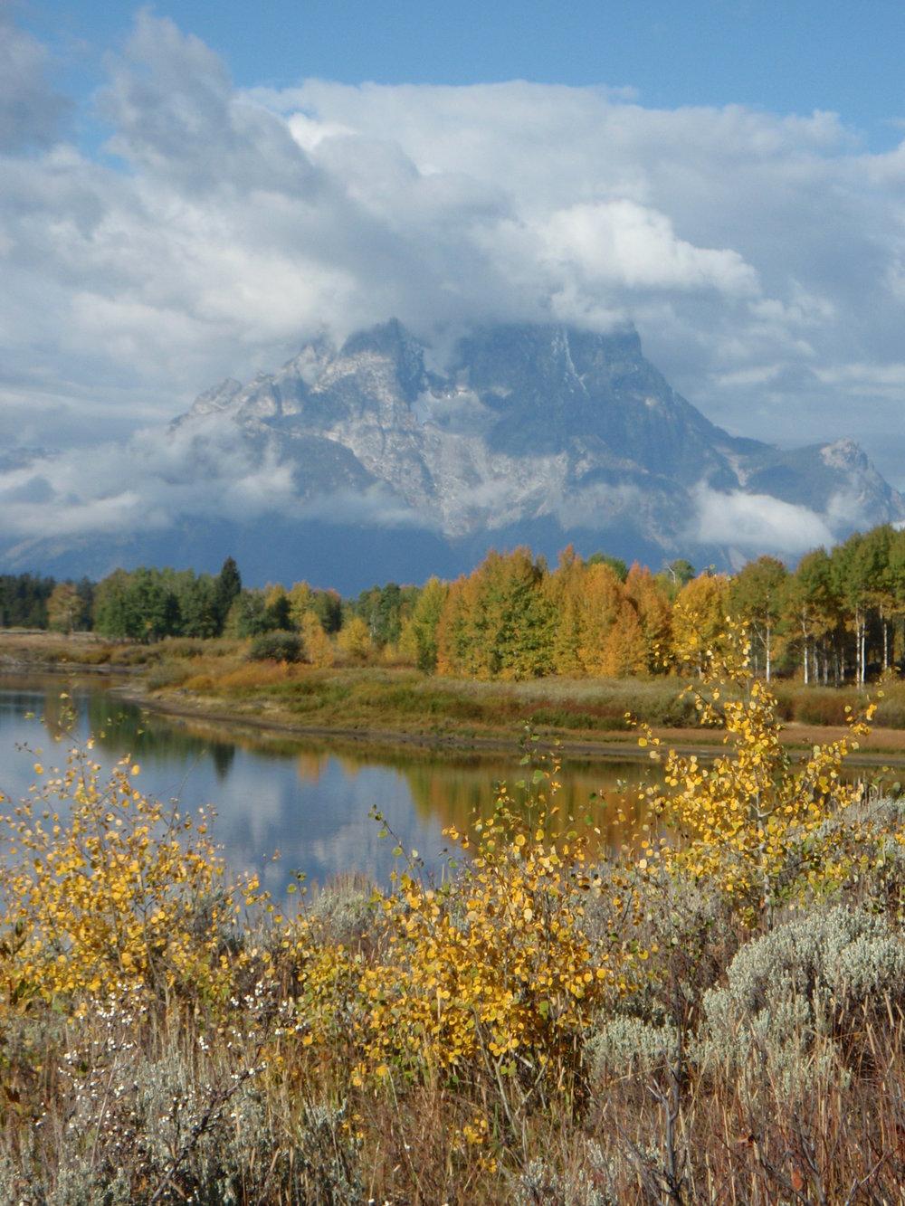 Oxbow Bend Turnout en route to Grand Teton National Park