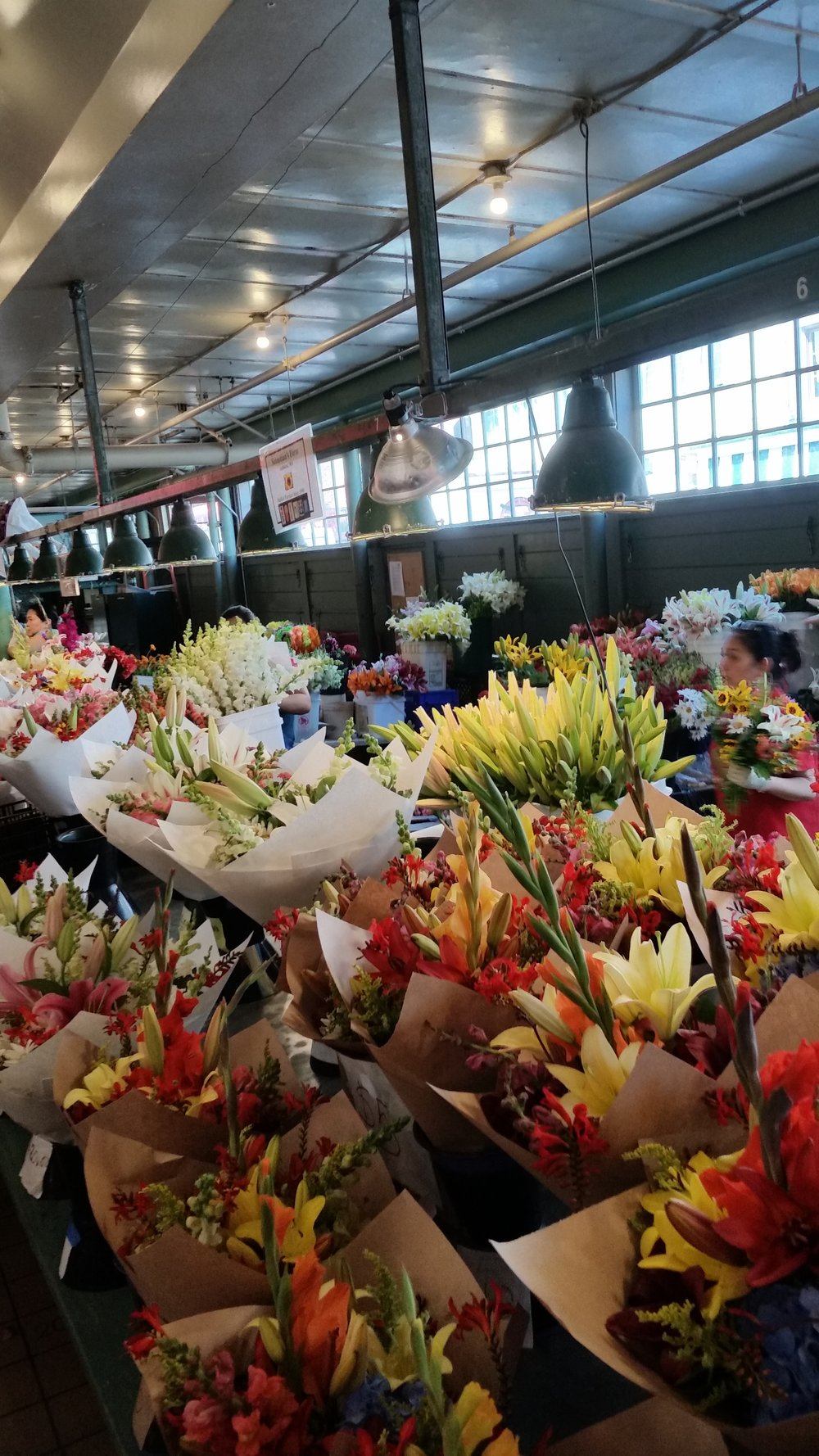 Flowers at Pike Place market!