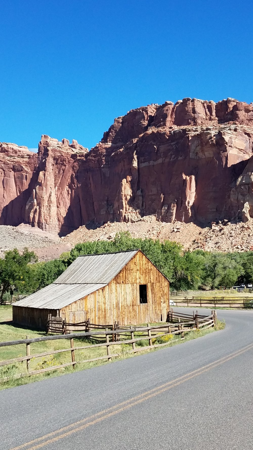Fremont River Valley, Capitol Reef National Park, UT