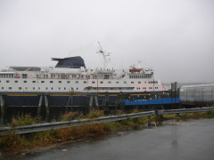 Alaska Ferry, Columbia - the largest