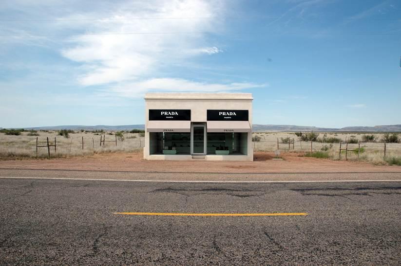 Prada store scupture, Marfa, TX