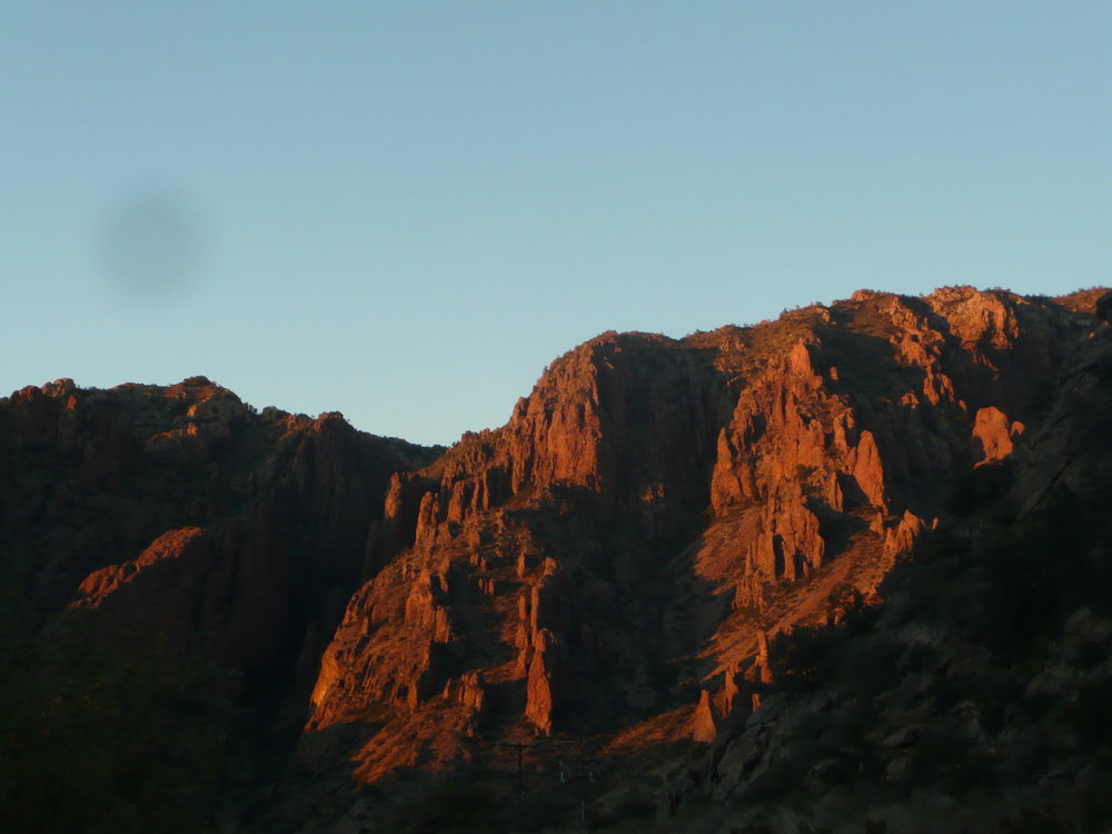 Chisos Mountains, Big Bend National Park, TX