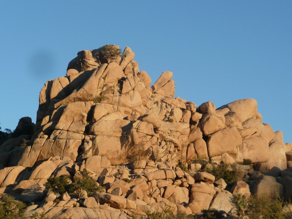 Boulder stacks, west side of Joshua Tree National Park