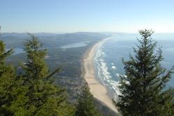 View of Manzanita from Neakanie Mountain