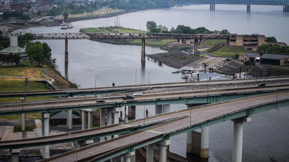 Mississippi River- approximately 47 miles of the Mississippi is impaired within Memphis limits.
