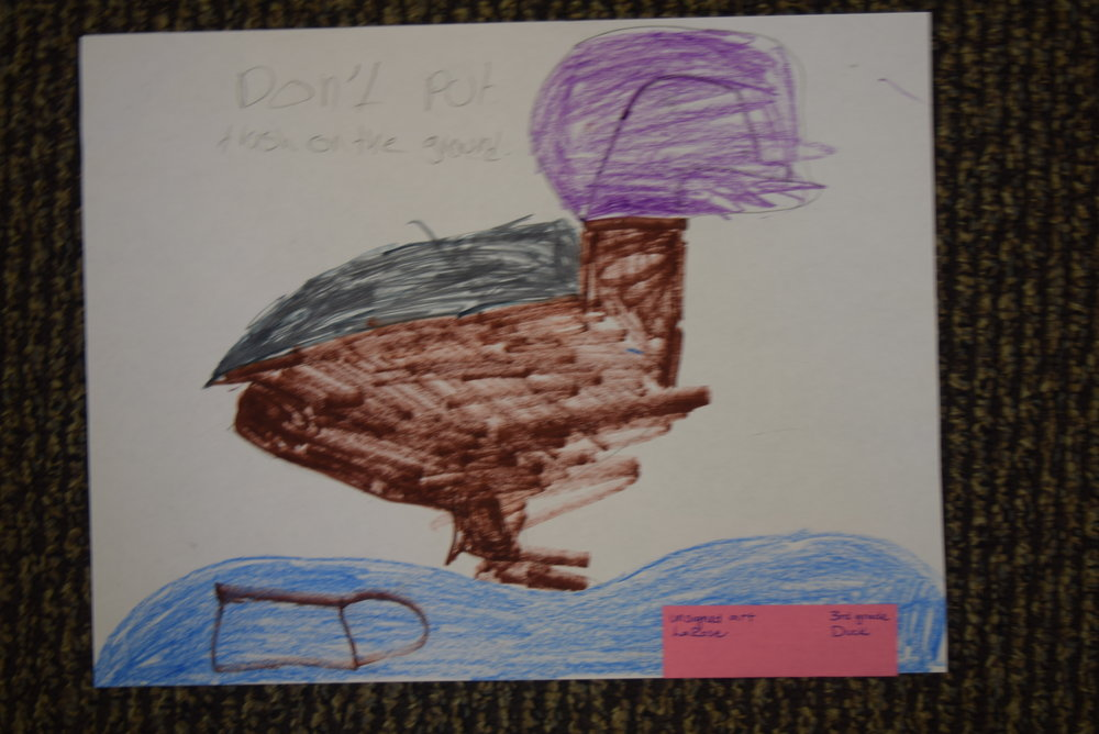 unsigned art- LaRose, 3rd grade