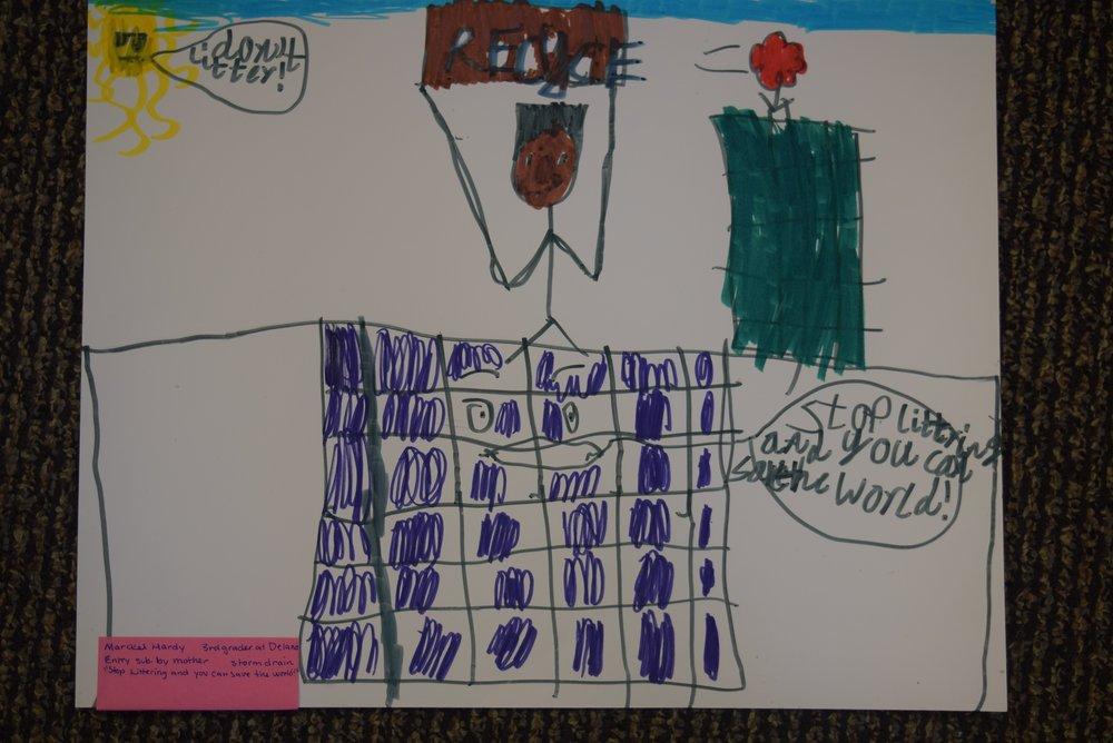 Marckel Hardy- Delano, 3rd grade