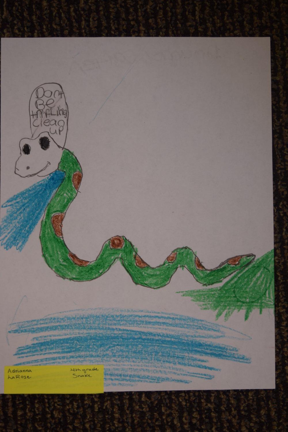 Adrianna- LaRose, 4th grade
