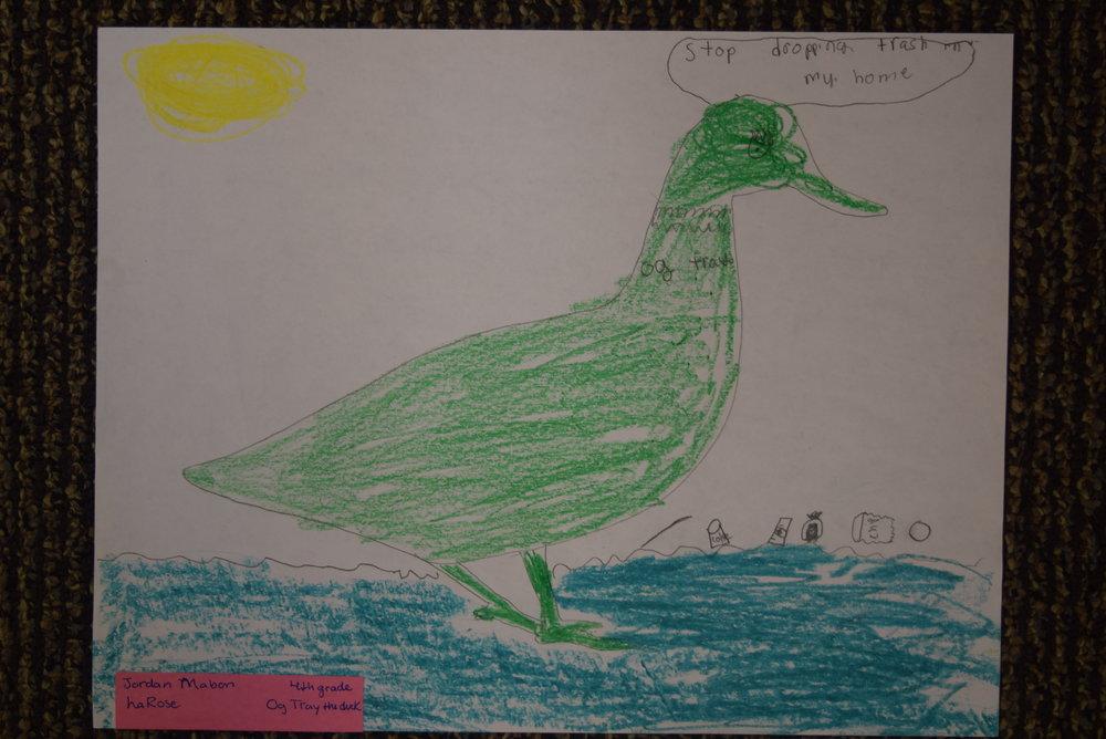 Jordan Mabon- LaRose, 4th grade
