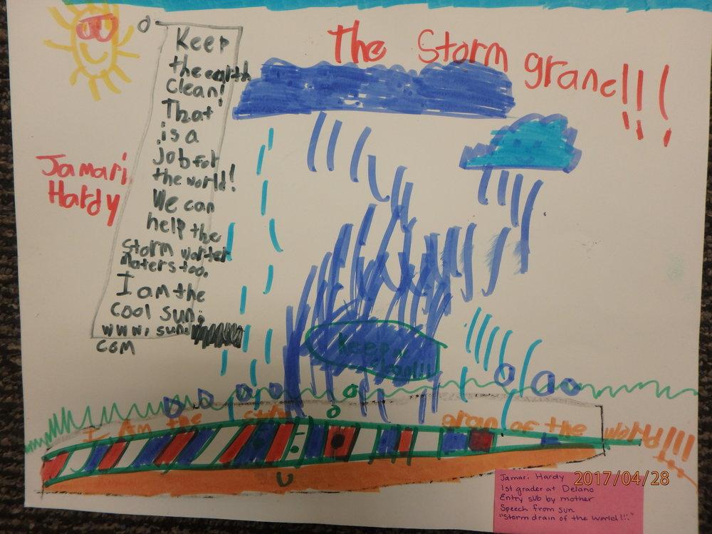 Jamari Hardy- Delano, 1st grade
