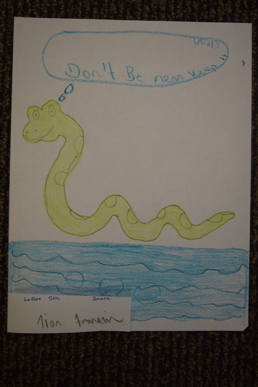 Tion Franklin- LaRose, 5th grade