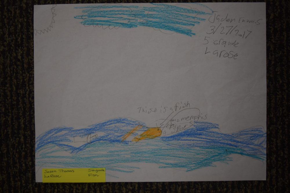 Jaden Thomas- LaRose, 5th grade