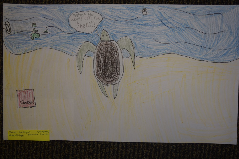 Javier Gallegos- Hickory Ridge, 5th grade