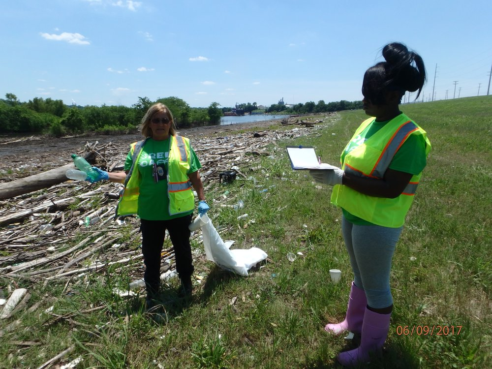 Week 1: Clean-up and trash sorting